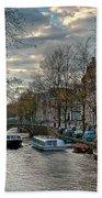 Leidsegracht. Amsterdam Bath Towel