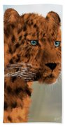 Leopard - Featured In The Group Wildlife Bath Towel