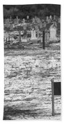 Leper Graveyard On Robben Island Hand Towel
