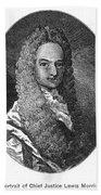 Lewis Morris (1671-1746) Bath Towel