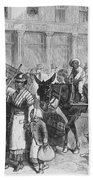 Liberated Slaves, 1861 Hand Towel