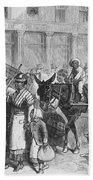 Liberated Slaves, 1861 Bath Towel