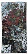 Lichen Abstract II Bath Towel