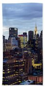 Life In The Big City Hand Towel