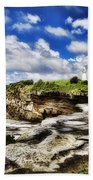 Lighthouse At Watson Bay Bath Towel
