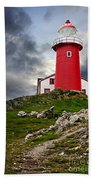 Lighthouse On Hill Hand Towel