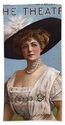 Lillian Russell On Cover Bath Towel