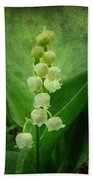 Lily Of The Valley - Convallaria Majalis Bath Towel