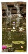 Lily Pond Bath Towel
