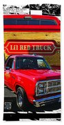 Little Red Express Dbl Hdr Bath Towel