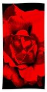 Little Red Flower ... Bath Towel