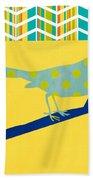 Little Song Bird Bath Towel