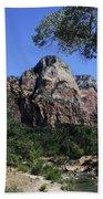 Little Virgin River - Zion National Park Bath Towel