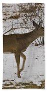Little White Tails Mama Hand Towel