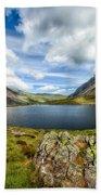 Llyn Idwal Lake Bath Towel