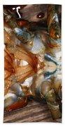 Lobster Female Sex Organs Bath Towel