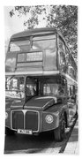 London Bus Bath Towel