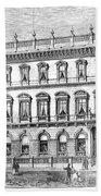 London: Carlton Club, 1868 Bath Towel