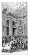 London: Freemasons Hall Bath Towel