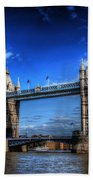 London Tower Bridge Bath Towel