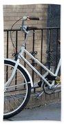 Lonely Bike Bath Towel