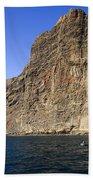 Los Gigantes Cliffs Bath Towel