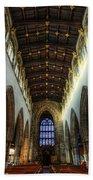 Loughborough Church Ceiling And Nave Bath Towel