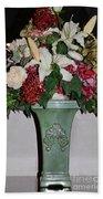 Lovely Floral Arrangement Bath Towel