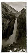 Lower Yosemite Falls Bath Towel