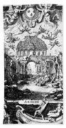 Lully: Armide, 1686 Bath Towel