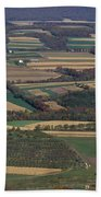 Mahantango Creek Watershed, Pa Bath Towel