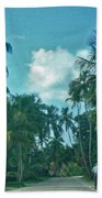Mail Delivery In Paradise Bath Towel