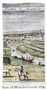 Manchester, England, 1740 Bath Towel