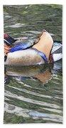 Mandarin Duck  Bath Towel