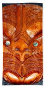 Maori Mask One Bath Towel