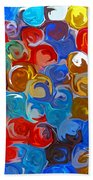 Marble Collection Abstract Bath Towel