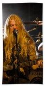 Marco Hietala And Jukka Nevalainen - Nightwish  Bath Towel