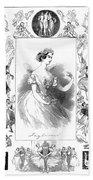 Marie Taglioni (1804-1884) Bath Towel
