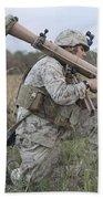 Marines Conduct A Simulated Attack Bath Towel
