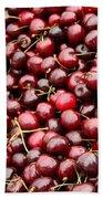 Market Cherries Bath Towel