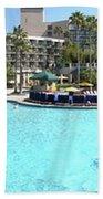 Marriott Hotel Swimming Pool Panorama Orlando Fl Bath Towel