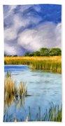 Marshlands On Isle Of Palms Bath Towel