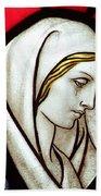 Mary Tears Bath Towel
