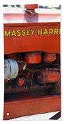 Massey Harris Details Bath Towel