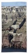 Mavromatis Pumice Quarry With Pier Bath Towel