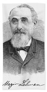 Mayer Lehman (1830-1897) Bath Towel