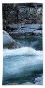 Mcdonald River Glacier National Park - 4 Bath Towel