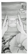 Meditation  Bath Towel