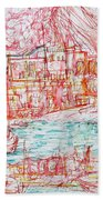 Mediterranean Bay Bath Towel
