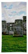Megaliths Bath Towel
